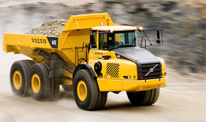 Volvo A40 Rock Truck